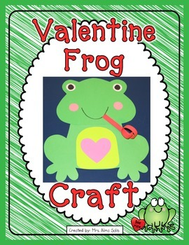 Valentine Frog Craft