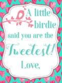Tweet Valentines From Teacher / Student
