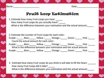 Valentine Fruit Loop Estimation