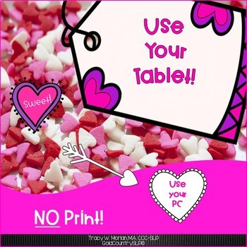Valentine Fun Facts ePack NO PREP Interactive!