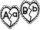 Valentine Fun! Literacy and Math Matching Puzzles
