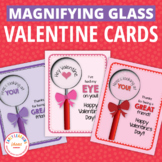 Valentine's Day Cards: DIY Magnifying Glass Valentine and Friendship Card