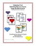 Valentine Fun! Matching Memory Game Juego de Memorama