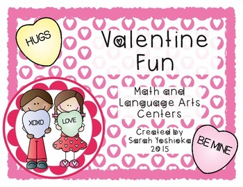 Valentine Fun Math and Language Arts No-Prep Pack