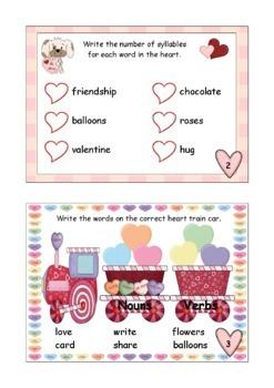 Valentine Fun Mini Book