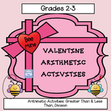 Valentine Division Practice & Greater Than Less Than Reinf