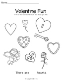 Valentine Fun Sheet