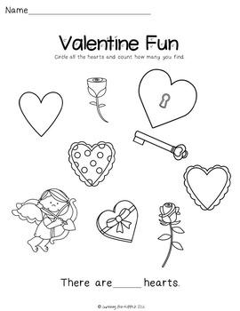 Valentine Fun Sheet