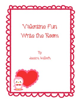 Valentine Fun! Write the Room