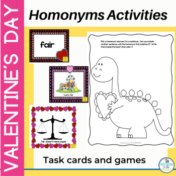 Homonyms: Valentine themed