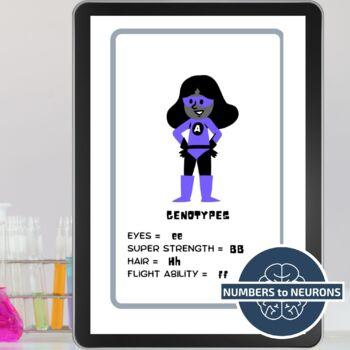 GENETICS - Science Escape Room - Digital or Physical Locks