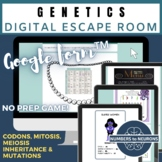 GENETICS Science Escape Room Mitosis and Meiosis Activity