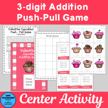 Valentine Game 3-digit Addition