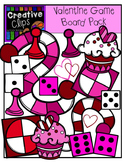 Valentine Game Board Pack {Creative Clips Digital Clipart}