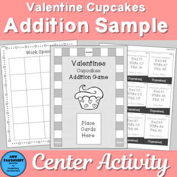 Valentine Game FREE Sample Addition