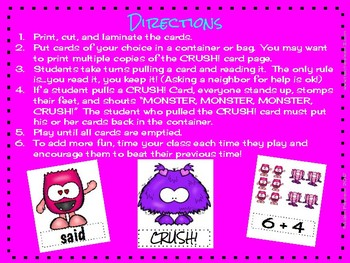 Valentine Game - MONSTER CRUSH!