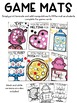 Valentine's Day Activities | Editable Valentine Game Mats