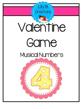 Valentine Game - Musical Numbers