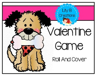 Valentine Game - Roll And Cover