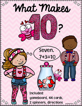 Valentine Game ~ What Makes 10?