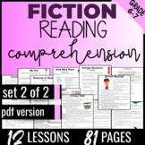 Reading Comprehension Passages & Questions {Fiction Set2/2} ELA Test Prep (PDF)