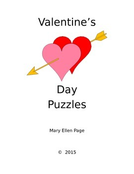 Valentine Games and Puzzles