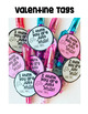 Valentine Gift Tags {I think you are Just WRITE!}