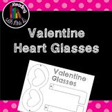 Valentine Glasses Freebie