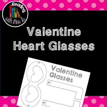 Valentine Glasses Freebie