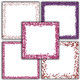Valentine Glitter Digital Paper Pack - Red and Pink Borders - 16 Papers - 12x12