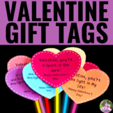 Valentine's Day Gift Tags/Glow Wands