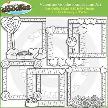 Valentine Goodie Frames