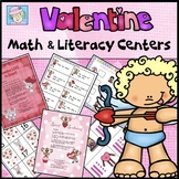 Valentine's Day Centers Kindergarten & 1st Grade with BOOM CARDS