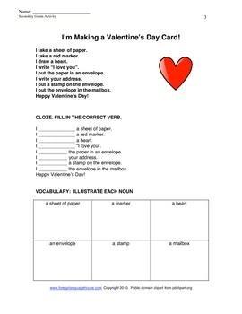Valentine Gouin Series for English Language Learners ESL/EFL