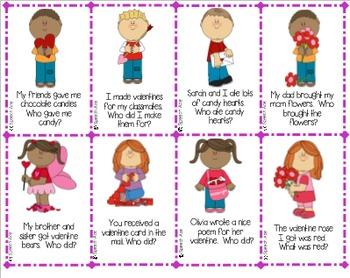 Valentine Grammar Pack