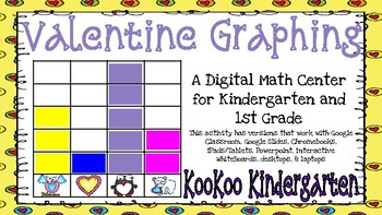 Valentine Graphing-A Digital Math Center (Compatible with Google Apps)