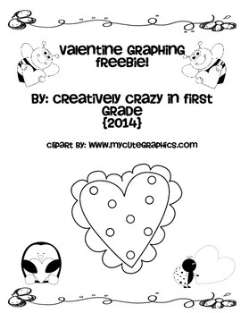 Valentine Graphing FREEBIE! CCSS Aligned