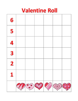 Valentine Graphing Game