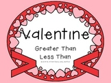 Valentine's Day Greater Than Less Than
