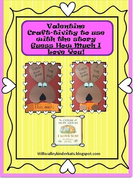 Valentine-Guess How Much I Love You Craft-tivity