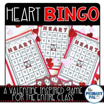 Valentine's Day: HEART BINGO