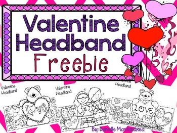 Valentine Headband Freebie