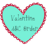 Valentine Heart ABC Order