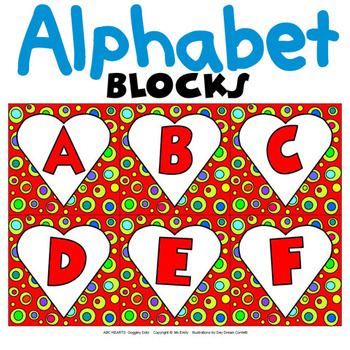 Valentine Heart Alphabet ABC…123…