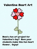Valentine Heart Art - Make a Flower