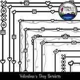 Valentine Borders Clipart