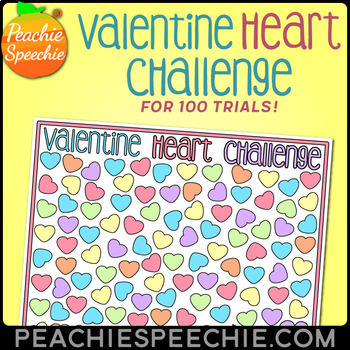 100 Trials Valentine Heart Challenge
