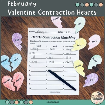 Contractions Center for February