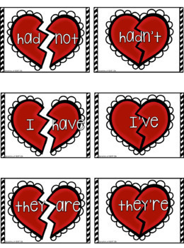 Valentine Heart Contractions (K-1)