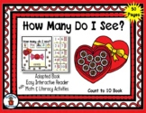 Valentine Heart - Count to 10 Adapted Interactive Reader &